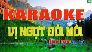 Karaoke VỊ NGỌT ĐÔI MÔI - Quang Dũng - Karaoke Hoàng Đỉnh – Karaoke Beat chuẩn full Band