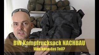 BW Kampfrucksack Nachbau - Kann das was?