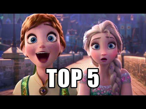 Frozen Fever Top 5 Moments - SPOILERS | MTW