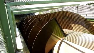preview picture of video 'Torrs hydro Archimedean screw'