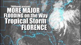 Tropical Storm Florence set to drop 2+ feet of Rain on NC today