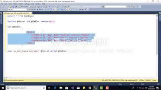 Select,Insert Xml Data Into  Sql Table