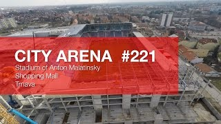 preview picture of video 'CITY ARENA (4K) - (221) Aircam Video #3 (15. Február 2015) [DRONE]'