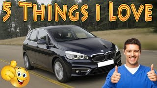 BMW 2 Series Active Tourer - 5 Things I Love Vlog