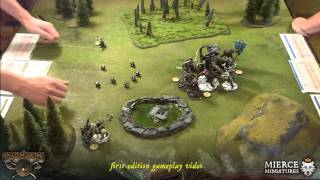 Darklands Gameplay Video/Batrep by Mierce Miniatures