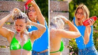 LUSTIGE SOMMER DIY-STREICHE! || Beste DIY Streiche für Freunde & Familie von 123 GO!