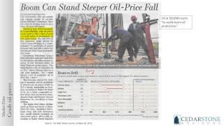 Cedarstone Economic Insights - March 2015 Insight on Crude Oil