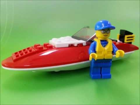 Vidéo LEGO City 4641 : Le hors-bord