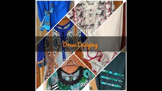 لیلن کےڈیزائن/فراک ڈیزائنر \Frock Desiging / Linen Dress Desiging / Girls Frock /stiching Ideas