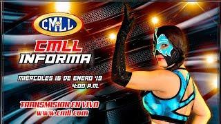CMLL INFORMA 16 DE ENERO DE 2019