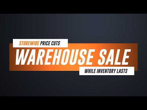 Warehouse Sale 2021