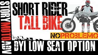 Short Riders Factory Seat Conversion