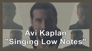 """Avi Kaplan """"Singing Low Notes"""""""