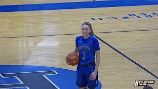 PAIGE BUECKERS Puts On Show After Being Named USA Athlete of the Year & School Leading Scorer!