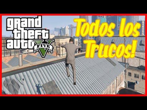 """✅ TRUCOS GTA 5 PS3 """"TODOS los TRUCOS de PERSONAJE"""""""