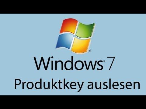 Windows 7 Produktkey auslesen Tutorial German/Deutsch [HD] - TutorialChannel