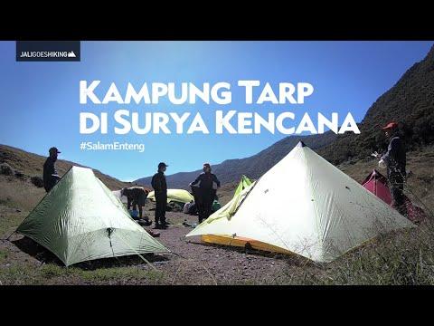 Pendakian ala Ultralight Hiking - Kampung Tarp Tent di Surya Kencana | Hiking Vlog