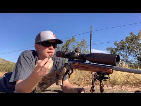 350 legend bullet drop comparison target vs hunting ammo