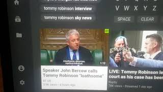 Tommy Robinson #UK BBC Parliamentary #Fake News