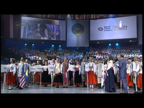 8th World Choir Games Closing Ceremony (2014)