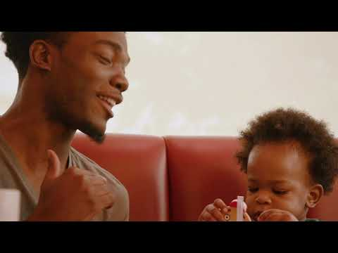 Viral Father and Talking 16 Month Old Son are Featured in a Denny's Commerical
