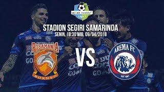 Live Streaming Ochanneltv Liga 1 Indonesia, Pusamania Borneo Vs Arema FC Pukul 18.30 WIB