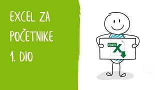 Excel Za Početnike - 1. Dio