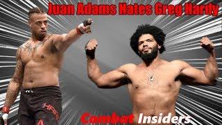 Juan Adams BLASTS Greg Hardy Ahead Of His UFC Ottawa Fight