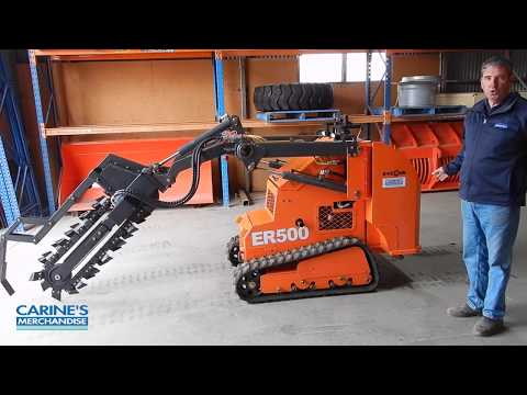 Everun ER500 mini digger