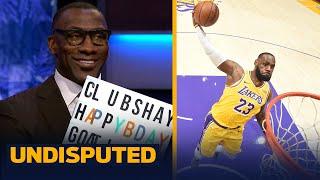 Happy Birthday Goat James! Skip & Shannon on LeBron's legacy & 36th Birthday | NBA | UNDISPUTED