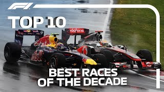 Top 10 Best Races Of The Decade | 2010-2019