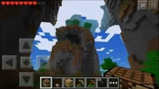 Minecraft PE Multiplayer Lets Play! ~ Episode 1 ~ Quiet Man Jankens! With A Stranger! (VGamerTV)