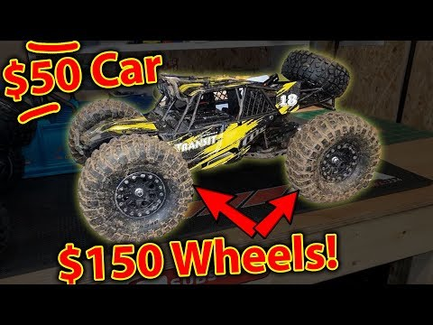 How Good Can A Dirt Cheap RC Car With Expensive Wheels Be................
