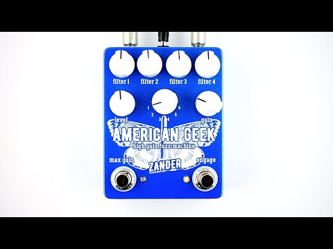 zander-circuitry-american-geek-high-gain-fuzz-machine-demo