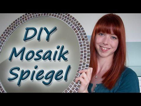 DIY Mosaikspiegel/ Mini Roomtour Gäste-WC