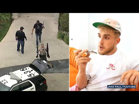 FBI serves search warrant at Jake Paul's house in Calabasas I ABC7