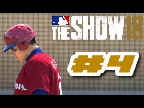 MLB The Show 18 PS4 Road To The Show Ep.1 (Road To MLB The Show 19 PS4 Road To The Show Ep.4)