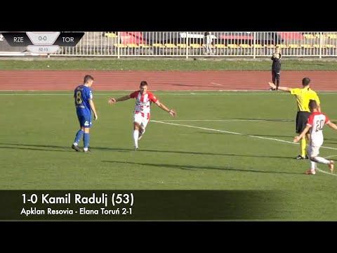 WIDEO: Apklan Resovia - Elana Toruń 2-1 [BRAMKI]