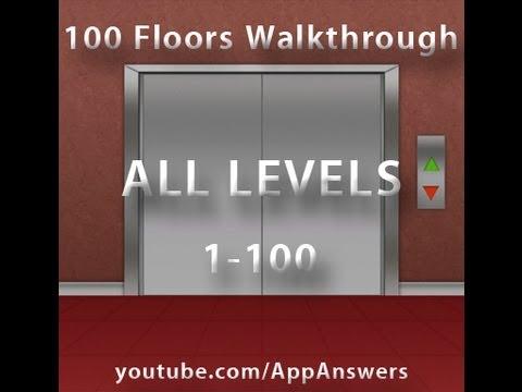 100 Floors - 1-100 Walkthrough ALL FLOORS