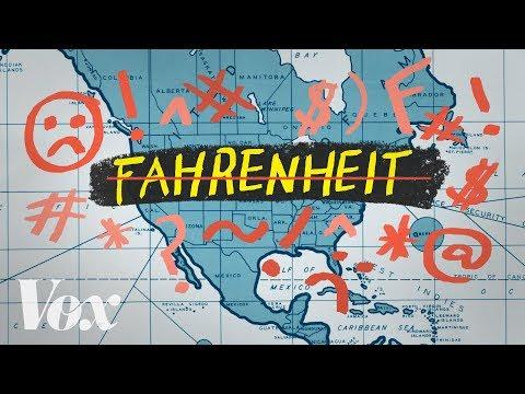 Proč se v Americe pořád používá Fahrenheit - Vox
