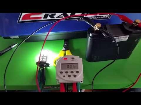 Timer 12V programovatelný časový spínač