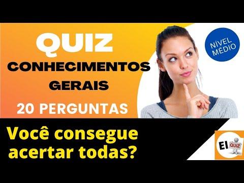 DESAFIO QUIZ DE CONHECIMENTOS GERAIS #14