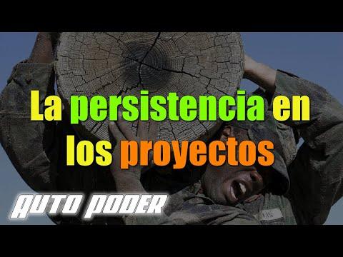 La persistencia en los proyectos