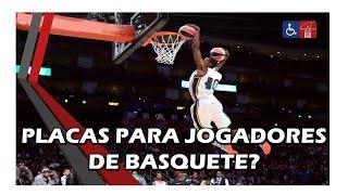 Placas para jogadores de basquete?
