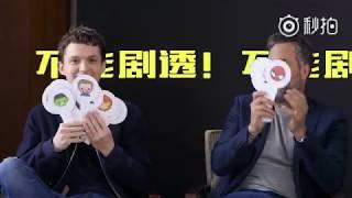 Avengers: Infinity War | Tom Holland and Mark Ruffalo in China