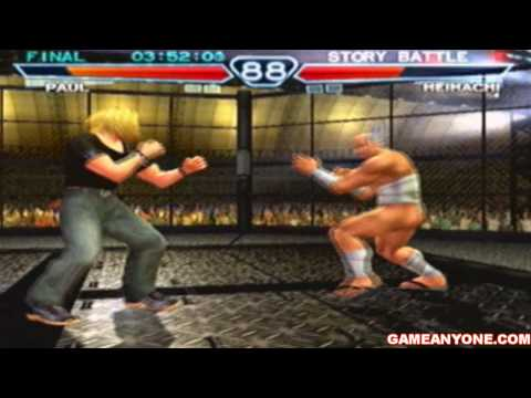 Tekken 4 Walkthrough Paul Playthrough 1 2 By Darius320 Game
