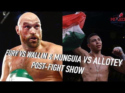 Fury vs Wallin | Munguia vs Allotey POST-FIGHT SHOW #FuryWallin #MunguiaAllotey