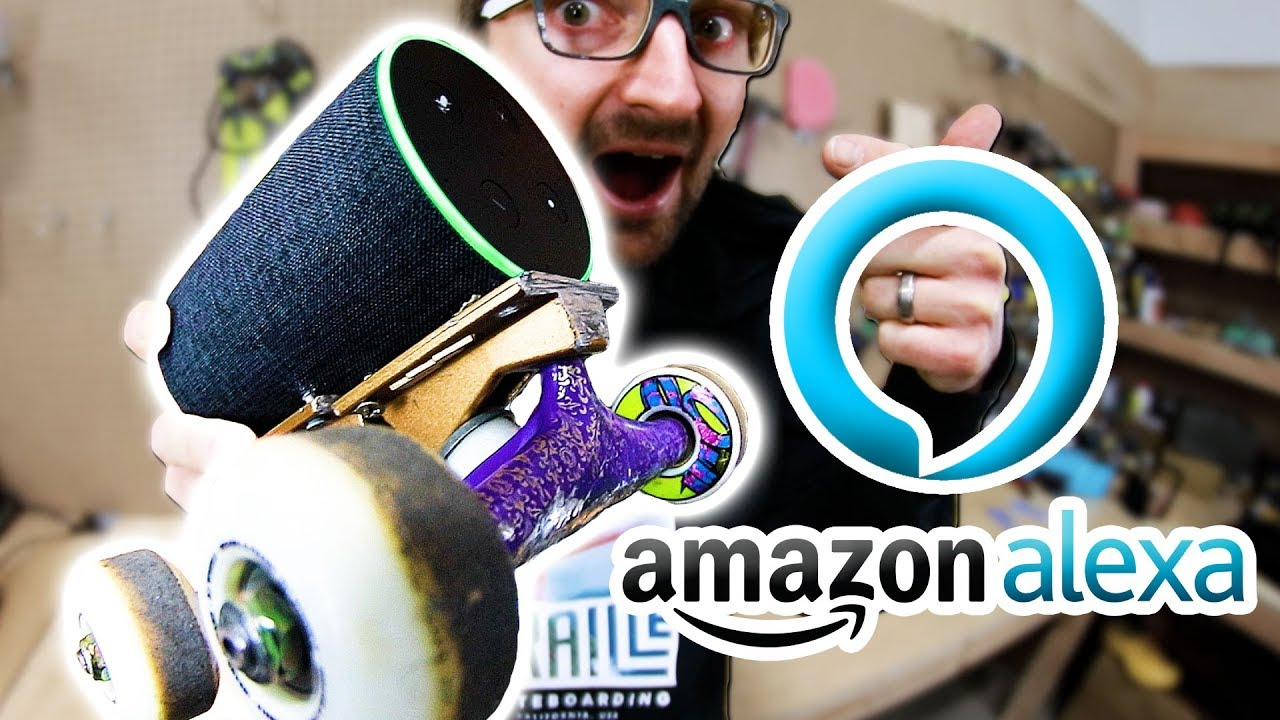 AMAZON ALEXA SKATEBOARD | SKATE EVERYTHING EP 89 - Braille Skateboarding