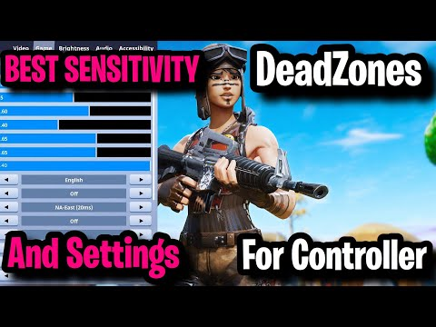 BEST Controller Fortnite Sensitivity + Settings + Deadzone