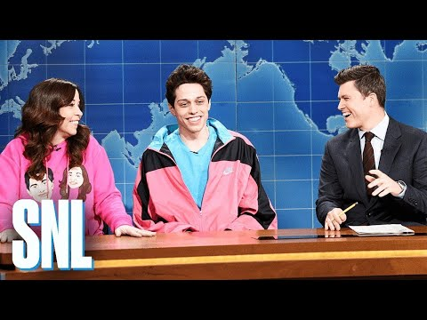 Download Weekend Update: Pete Davidson on Living with His Mom - SNL HD Mp4 3GP Video and MP3